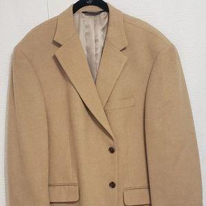 Men Wool Blazer Jacket Sport Coat size 46S